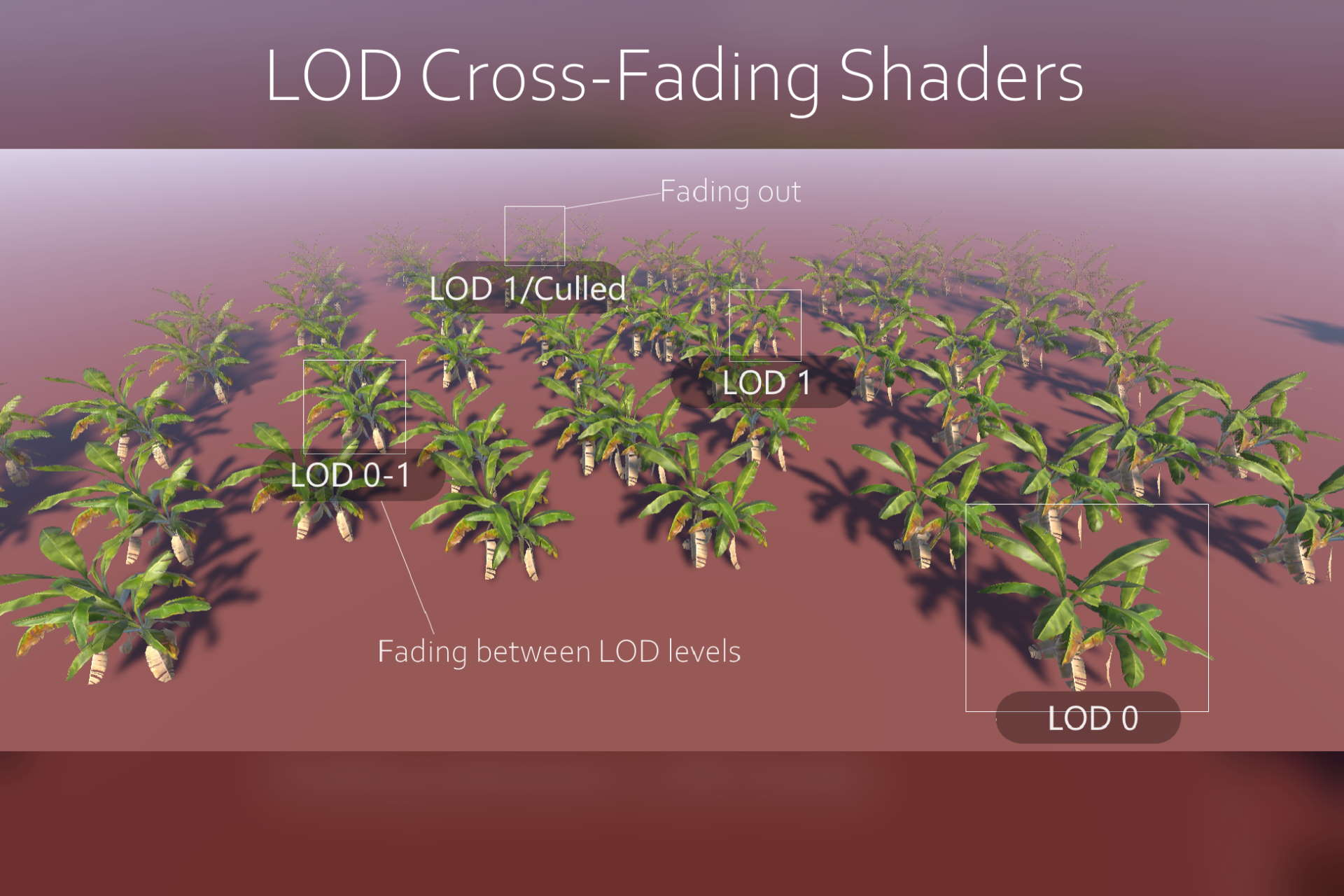 Lod crossfading shaders intro image