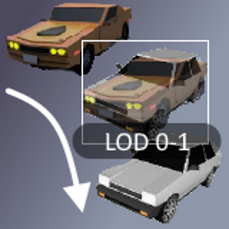 LOD Cross Fading Shaders icon
